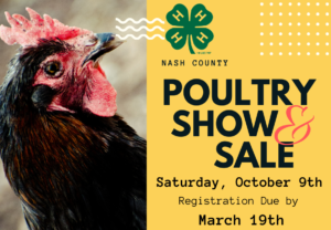 Cover photo for Poultry Show and Sale - October 9th