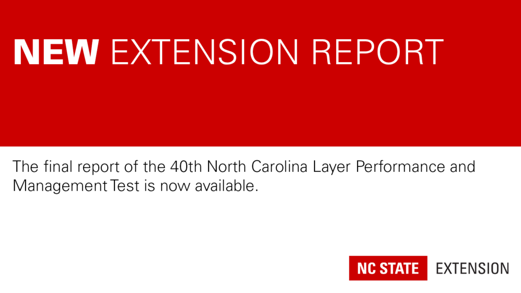 red and white graphic announcing a new Extension report