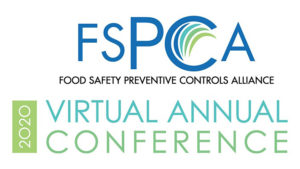 banner with FSPCA logo and text 2020 Virtual Anuual Conference