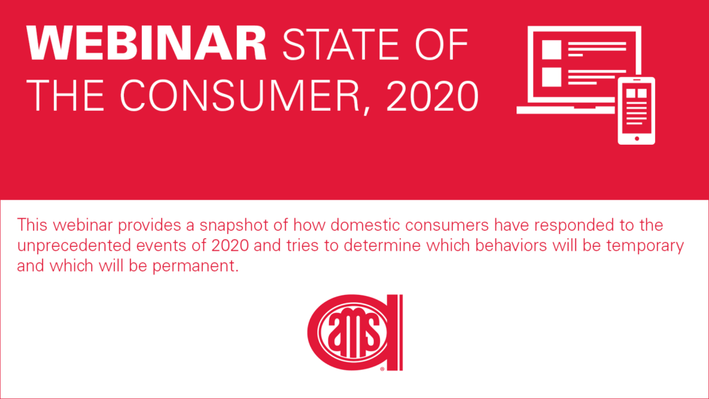 banner announcing the State of the Consumer - 2020