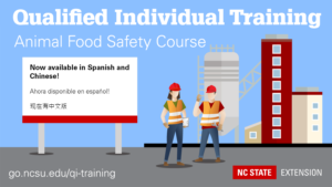 Cover photo for Qualified Individual Training – Now in Spanish and Chinese