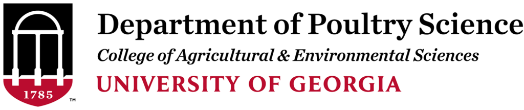 University of Georgia Department of Poultry Science logo